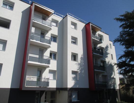 Réhabilitation énergétique Résidence Les 3 Glorieuses à Saint-Etienne