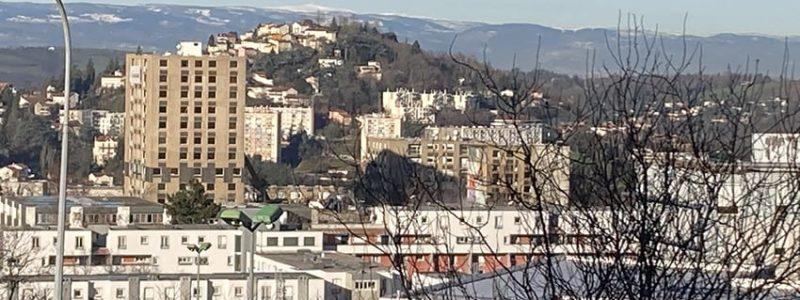 Démolition rue Janequin à Saint-Etienne