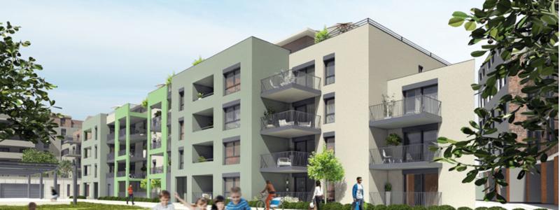 Nouveaux logements centre ville de Saint-Etienne